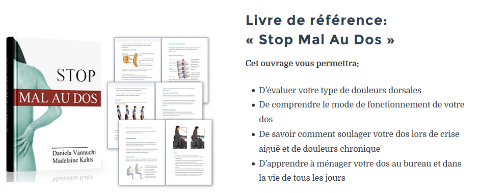 stop mal au dos solution